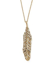 Forever 21「FOREVER 21 feather longline necklace(Necklace)」