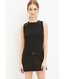 Forever 21「FOREVER 21 belted drop-waist dress(One piece dress)」