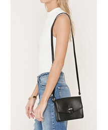 Forever 21「FOREVER 21 faux leather mini crossbody(Shoulderbag)」