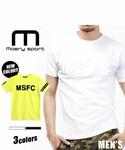 Moery Sport | 【モエリースポーツ】【メンズ】肉厚生地でスポーツにピッタリ!光の加減で文字が見える小技を効かせたMSFC Tシャツ(単品)(Tシャツ・カットソー)