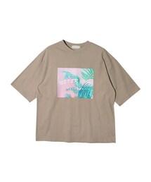 STYLENANDA(スタイルナンダ)の「パームツリーポイントTシャツ(その他)」