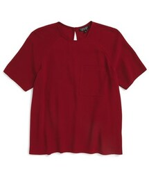 Topshop「Topshop Crepe Pocket Tee(T Shirts)」