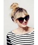 Free People「Free People Womens LOVE ME TWO TIMES SUNGLAS(Sunglasses)」