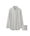 ユニクロ「WOMEN レーヨンエアリーブラウス(長袖)(Shirts)」