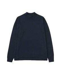 ユニクロ(ユニクロ)の「WOMEN エクストラファインメリノハイネックセーター(長袖)(ニット・セーター)」