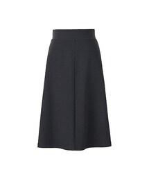 ユニクロ(ユニクロ)の「WOMEN ミラノリブカットソーミディスカート(スカート)」