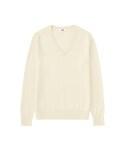 ユニクロ | WOMEN カシミヤVネックセーター(長袖)(ニット・セーター)