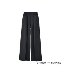 ユニクロ(ユニクロ)の「WOMEN オックスフォードワイドパンツ+E(パンツ)」