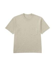 ユニクロ(ユニクロ)の「MEN ビッグシルエットポケ付きT(半袖)(Tシャツ・カットソー)」