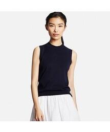 ユニクロ(ユニクロ)の「WOMEN UVカットノースリーブセーター(ニット・セーター)」