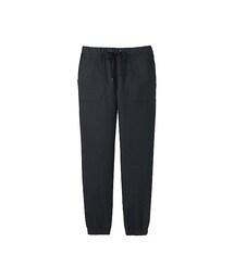 ユニクロ(ユニクロ)の「WOMEN デニムジョガーパンツ(レングス67~70cm)(パンツ)」