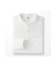 ユニクロ(ユニクロ)の「MEN エクストラファインコットンブロードスタンドカラーシャツ(長袖)(シャツ・ブラウス)」