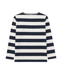 ユニクロ(ユニクロ)の「MEN ウォッシュボーダーT(長袖)(Tシャツ・カットソー)」