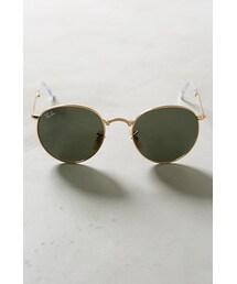 Ray-Ban「Ray-Ban Round Folding Sunglasses Gold One Size Eyewear(Sunglasses)」