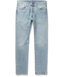 Levi's「Levi's 501 Slim-Fit Stretch-Denim Jeans(Denim pants)」