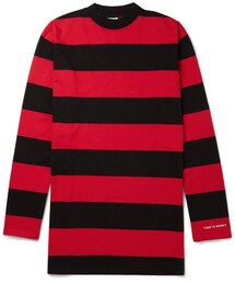 Vetements「Vetements Oversized Striped Cotton-Jersey T-Shirt(T Shirts)」
