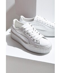 Puma「Puma X Rihanna Fenty Basket Creeper Glo Sneaker(Sneakers)」