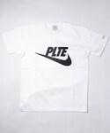 Palette TOKYO(パレットトーキョー)の「JUST DID IT #2 TEE(WHITE)(Tシャツ・カットソー)」