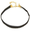 Vanessa Mooney | Vanessa Mooney Black Lace Choker Necklace(Necklace)