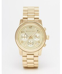 Michael Kors「Michael Kors Runway MK5055 Gold Chronograph Watch(Watch)」