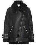Acne Studios | Acne Studios - Velocite Shearling Jacket - Black()