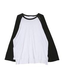 STYLENANDA(スタイルナンダ)の「シンプルラグランスリーブTシャツ(その他)」