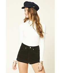 Forever 21「FOREVER 21 Cuffed Corduroy Shorts(Pants)」