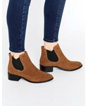 Pull&Bear「Pull&Bear Suedette Chelsea Boot(Boots)」