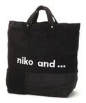 niko and... | オリジナル パッチワークロゴトート2WAY()