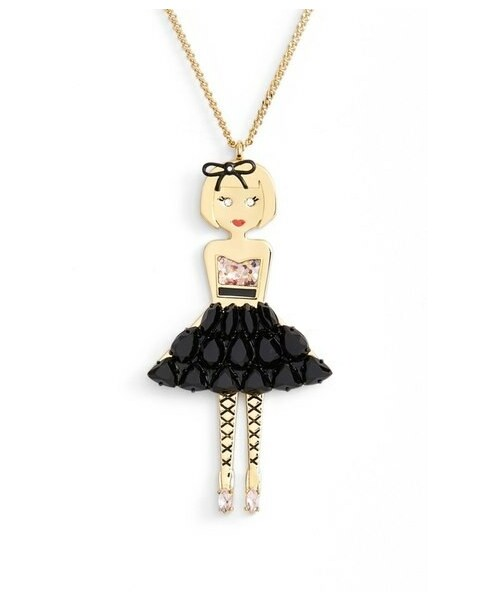 Kate spade kate spade new york on pointe ballerina kate spade new york on pointe ballerina pendant necklace mozeypictures Image collections