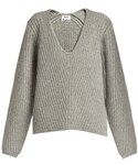 Acne Studios | ACNE STUDIOS Deborah V-neck wool sweater(Knitwear)