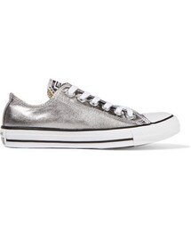 Converse「Converse - Chuck Taylor All Star Metallic Coated-canvas Sneakers - Silver(Sneakers)」