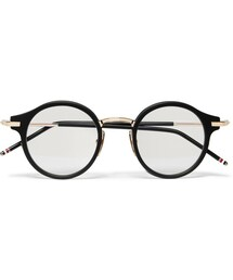Thom Browne「Thom Browne Round-Frame Acetate and Metal Optical Glasses(Glasses)」