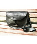 POESIA WEAR | POESIA WEAR - Handcraft lether shoulder bag/(ハンドクラフト レザーショルダーバッグ)(ショルダーバッグ)