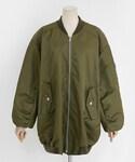 DHOLIC | ビッグシルエットMA-1ジャケット(ブルゾン)