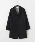 DOORS   Melton Chesterfield Coat()