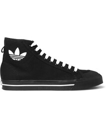 Raf Simons「Raf Simons + adidas Originals Spirit Canvas High-Top Sneakers(Sneakers)」