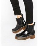Monki(モンキ)の「Monki Chunky Worker Boot(ブーツ)」