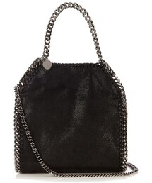 Stella McCartney「STELLA MCCARTNEY Bella mini faux-suede cross-body bag(Handbag)」
