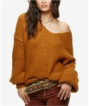 Free People | Free People All Mine V-Neck Sweater(Knitwear)