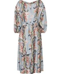 Zimmermann「Zimmermann - Winsome Printed Twill Dress - Light denim(One piece dress)」