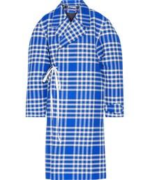 Jacquemus「Jacquemus - Plaid Woven Coat - Bright blue(Outerwear)」
