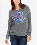 Lucky Brand「Lucky Brand Lotus Graphic Sweatshirt(Sweatshirt)」
