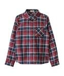 GRL   チェックネルシャツ(シャツ・ブラウス)