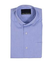 ONLY(オンリー)の「シャツ>ブルー/柄無地(セットアップ)」