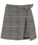 Dailyabout | バックウエストゴムAラインベルト付きラップ風スカート(P0000WGD)(スカート)