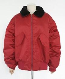 DHOLIC(ディーホリック)の「ファーカラーボアライニングジャケット(その他アウター)」