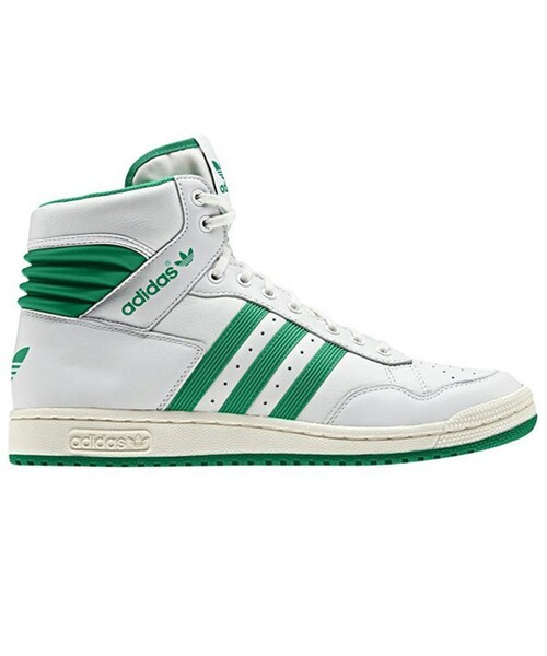 new product 08d4d b3434 ... best price adidas originals pro conference hi neo white fresh green  7f464 562d9