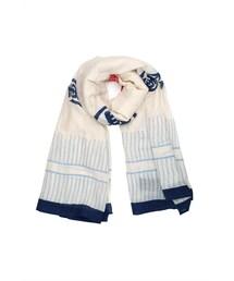 FLORENZ(-)の「Tenugui White scarf(マフラー・ショール)」