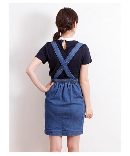 【Special Price】・デニムジャンパーコクーンスカート